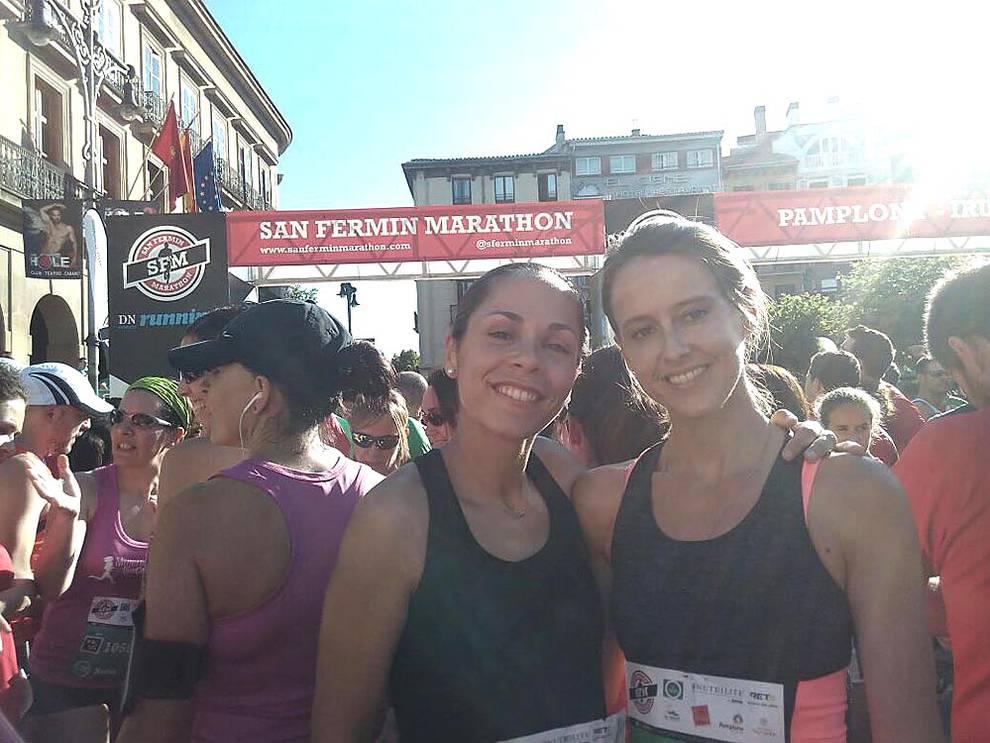 II SF Marathon - Imágenes de los lectores (1/83) - Fotografías enviadas por los lectores de la II San Fermín Marathon enviadas por nuestros lectores. - Fotos DNRunning -