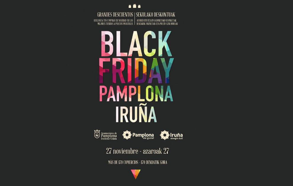 Pamplona m s de 170 comercios de pamplona participan en el 39 black friday 39 noticias de - 3 suisses black friday ...