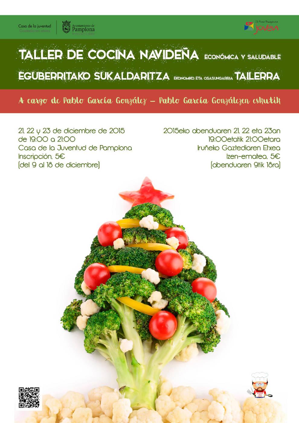 Pamplona taller de cocina navide a econ mica y - Cursos cocina pamplona ...