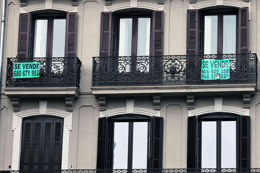 Vivienda en pamplona vecinos del casco viejo alertan del abandono de viviendas en el barrio - Alquiler pisos casco viejo pamplona ...
