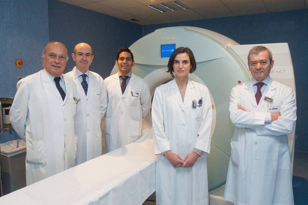 preparación de resonancia magnética multiparamétrica de la próstata