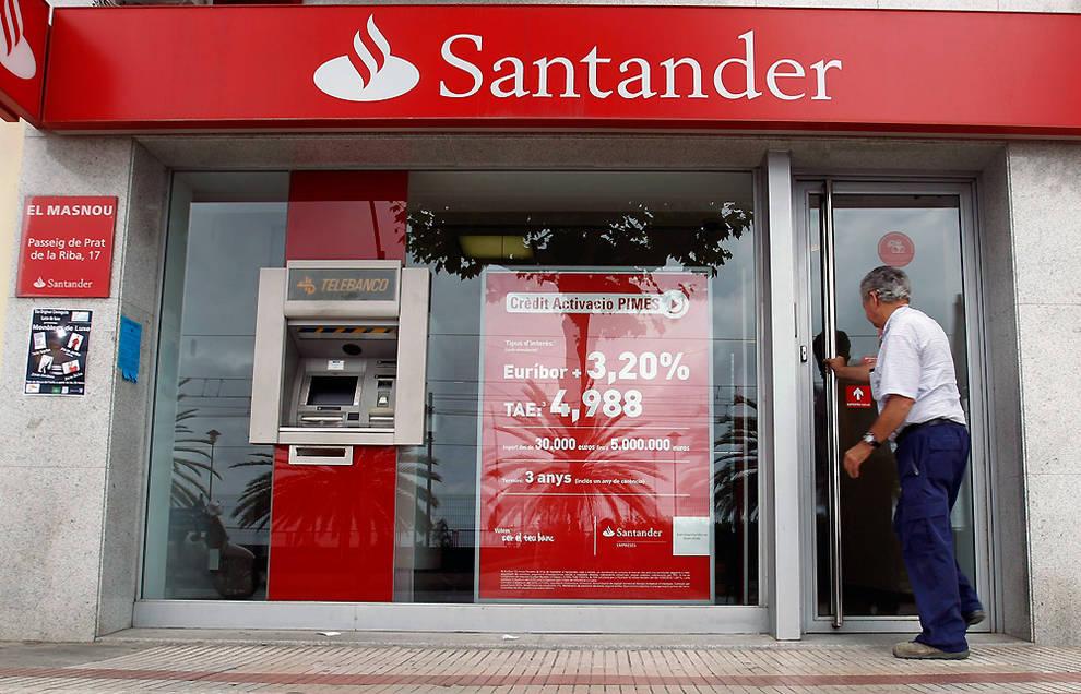 Dnplus navarra 29 de las 47 oficinas del santander for Oficinas banco santander murcia