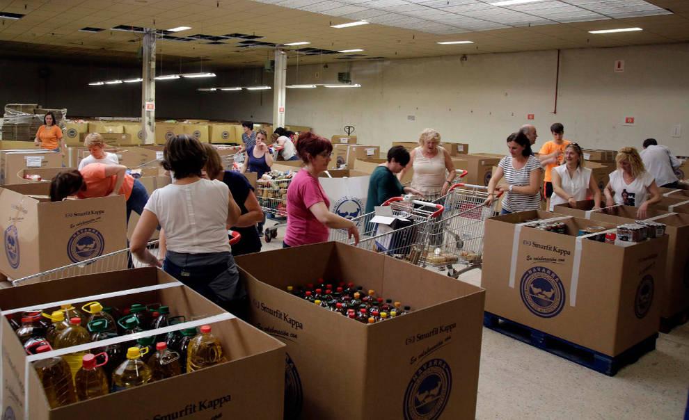 Dnplus 350 toneladas de compromiso noticias de navarra en diario de navarra dnplus - Banco de alimentos de navarra ...