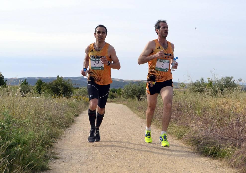 Media Maratón Los Arcos-Viana (1/48) - Andrés Fauste y Esther Padilla se han impuesto en la primera edición de la carrera. - Fotos DNRunning -