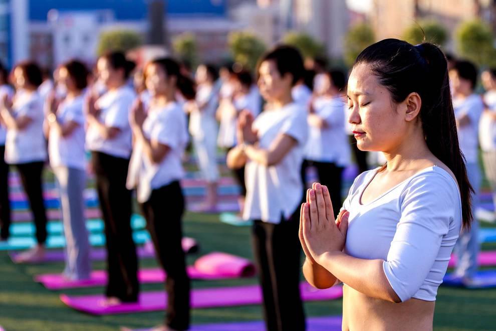 Día Internacional del Yoga (1/73) - La India alberga el principal evento mundial por el Día del Yoga, aunque se celebra en diversos lugares de todo el mundo - Vida Sana -