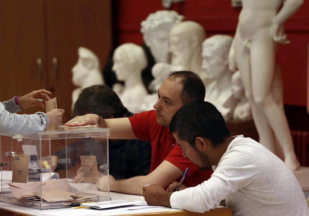 Elecciones 26j Los Colegios Cierran Tras Una Jornada Sin