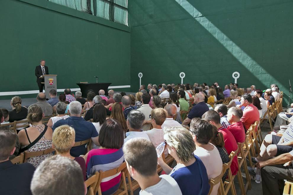 20 aniversario de la tragedia de Biescas (1/5) - Acto oficial de homenaje a las víctimas del camping Las Nieves. - Sucesos -