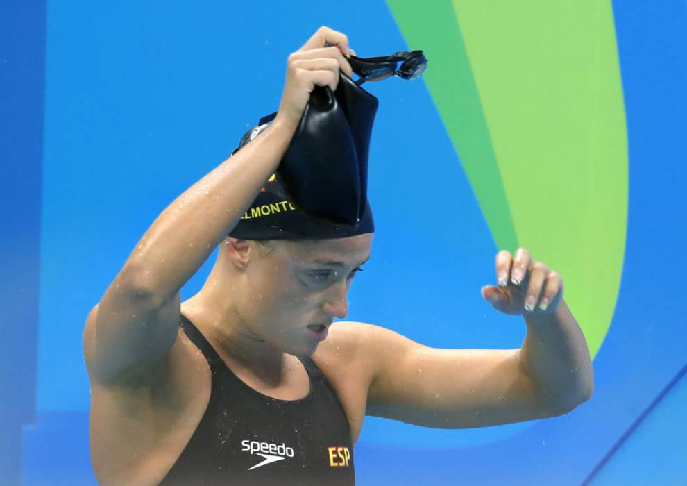 Jjoo Río 2016 Mireia Belmonte Fuera De La Final De Los 400 Libre