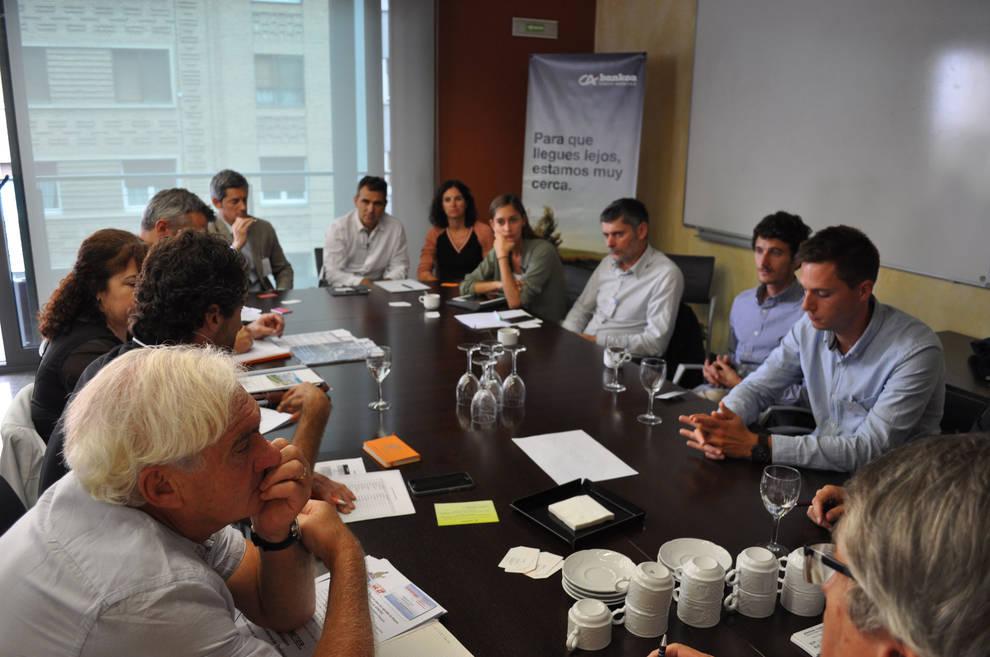 Primer Encuentro Transfronterizo (1/9) - Más de 60 empresas navarras y francesas participan en esta jornada organizada por ANEC CREA Aquitania - Contenidos -