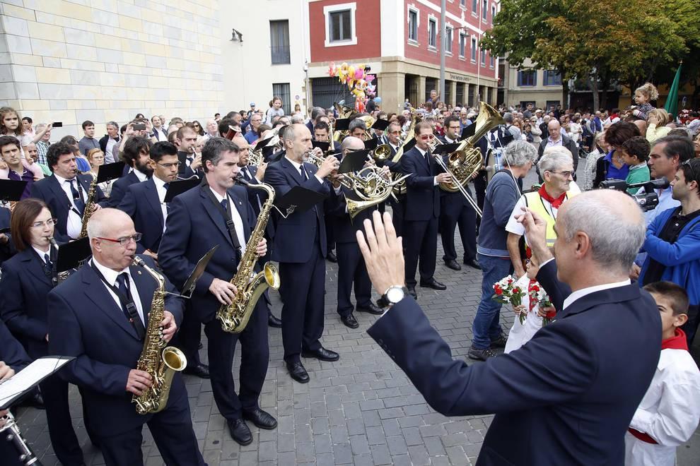 Procesión de San Fermín de Aldapa 2016 (II) (1/22) - Imágenes de la procesión de San Fermín Txikito 2016. - Pamplona -