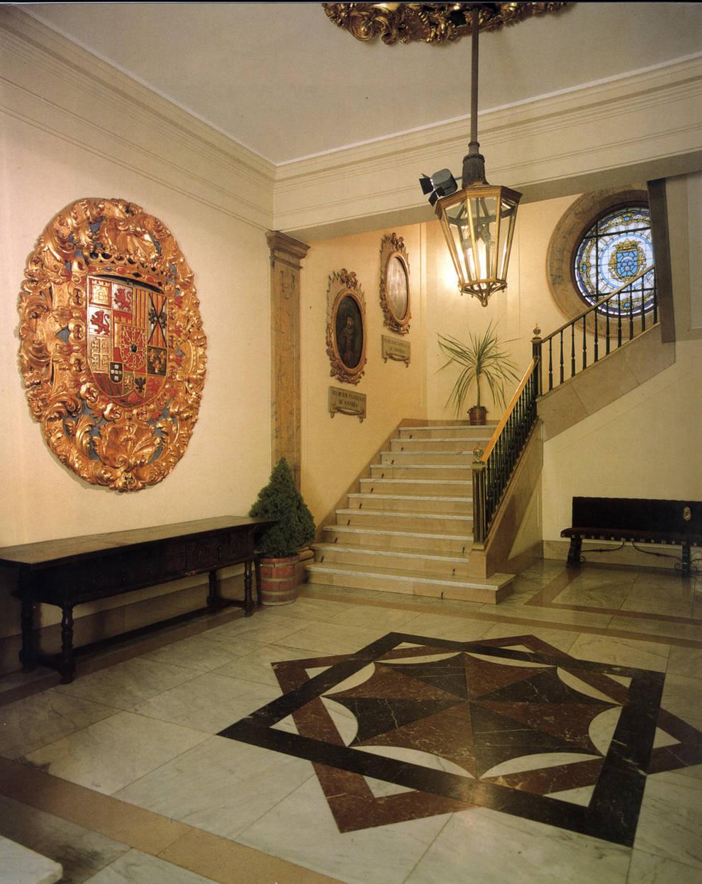 La decoraci n simb lica de asiron diario de navarra - Decoracion pamplona ...