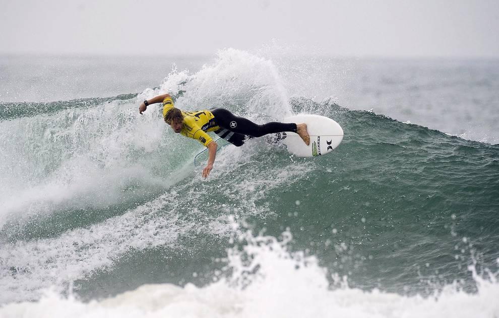 Moche Rip Curl Pro Portugal, en la playa de Supertubos en Peniche (Portugal) (1/12) - Prueba puntuable para el mundial de la Liga Mundial de Surf (WSL, en inglés) - Más deporte -