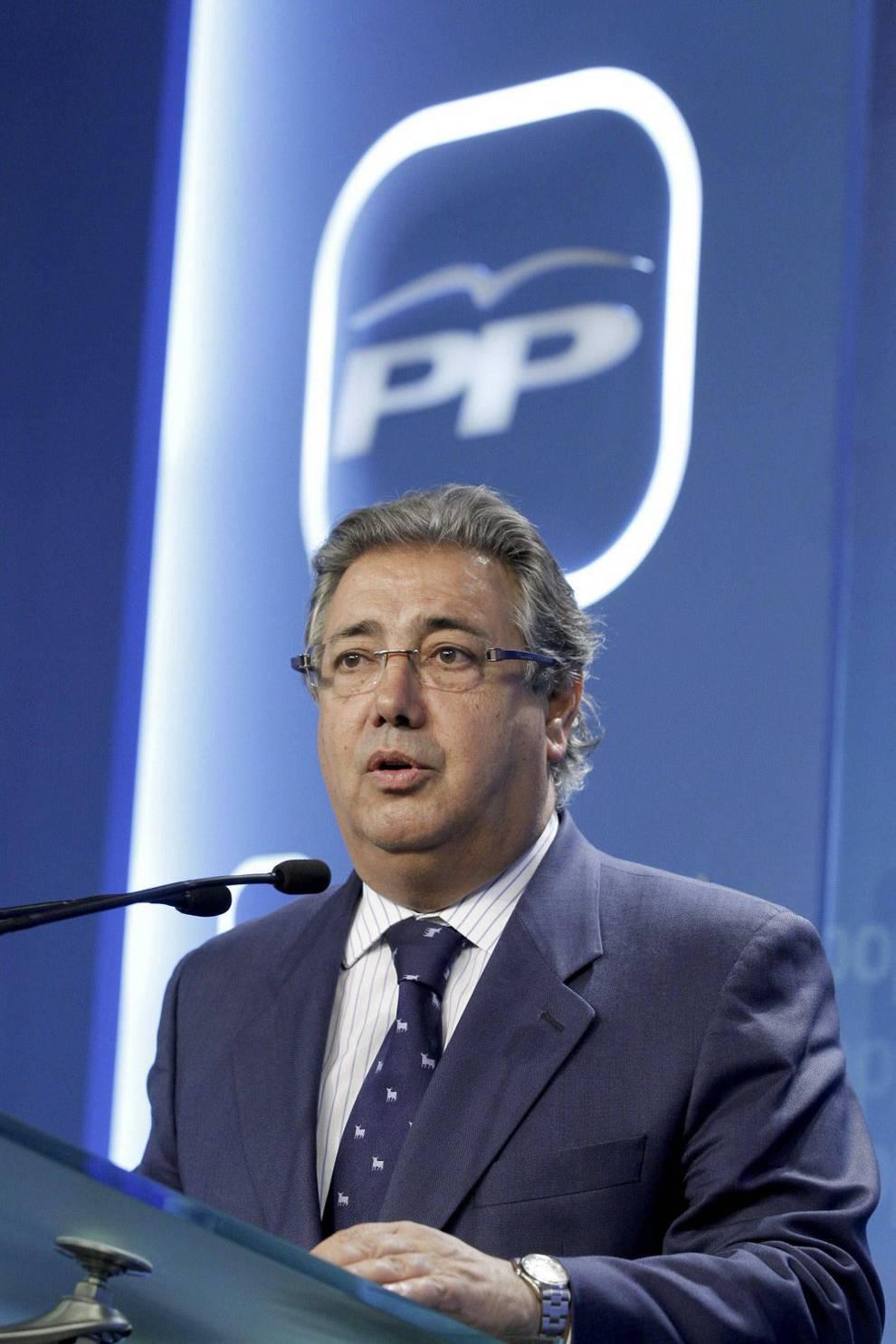 Juan ignacio zoido ministro de interior con alma de for Ministro de interior actual