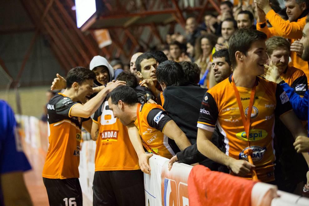 Aspil Vidal 2-4 Burela (1/30) - Imágenes del encuentro disputado en el Ciudad de Tudela. - Contenidos -