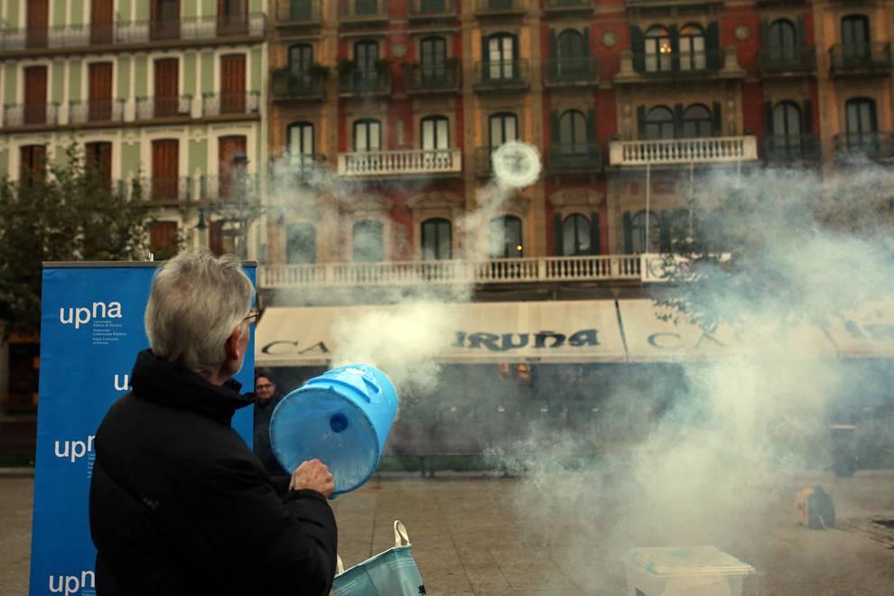 Inauguración de la Semana de la ciencia en Pamplona (1/14) - Fotos de la inauguración de la Semana de la ciencia en la plaza del Castillo de Pamplona. - Ciencia -