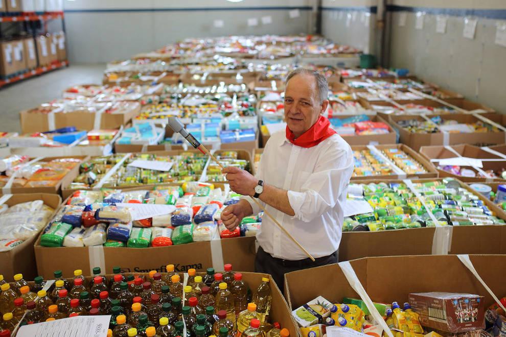 Gregorio yoldi y el banco de alimentos diario de navarra - Banco de alimentos de navarra ...