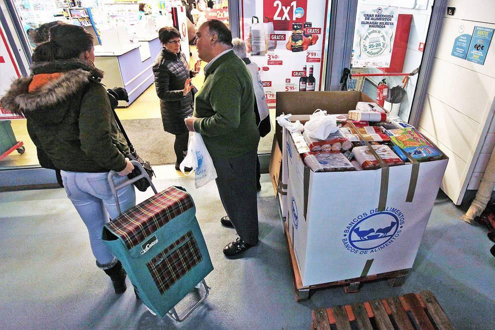 El banco de alimentos de navarra atiende a m s de personas noticias de navarra en - Banco de alimentos de navarra ...