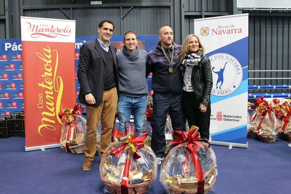 7ª Prueba Circuito DN, Trofeo Turrones Manterola (1/65) - Imágenes del torneo que sirvió también como Campeonato Navarro Absoluto por Parejas 2016 - Más deporte -