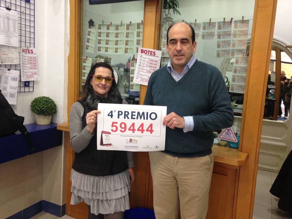 El 59.444, el primer cuarto premio de la Lotería de Navidad, vendido ...