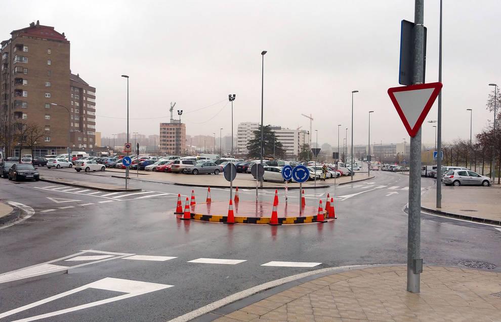 Reductores de velocidad en Arrosadía y Lezkairu (Pamplona) y ...