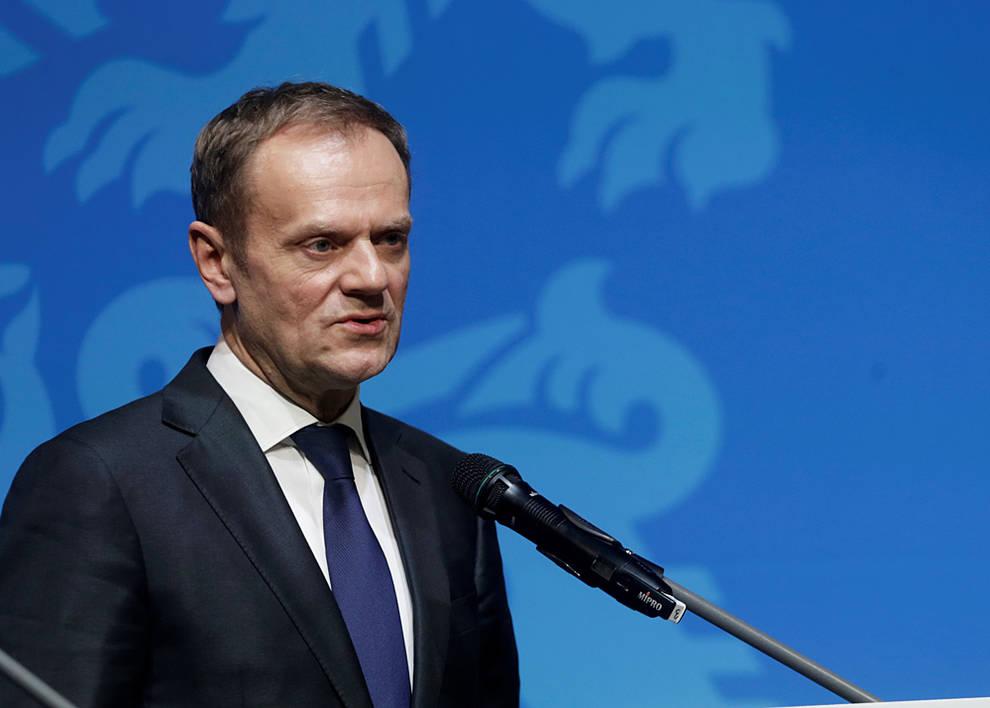 Tusk reelegido como presidente del consejo europeo for Presidente del consejo europeo