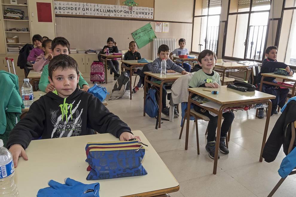 Colegio Virgen de Nievas (Sesma) (1/29) - Alumnado del colegio Virgen de Nievas. - Navarra -