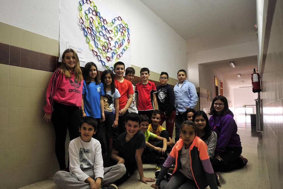 Colegio Elías Terés (1/11) - Escolares del colegio de Funes. - Navarra -