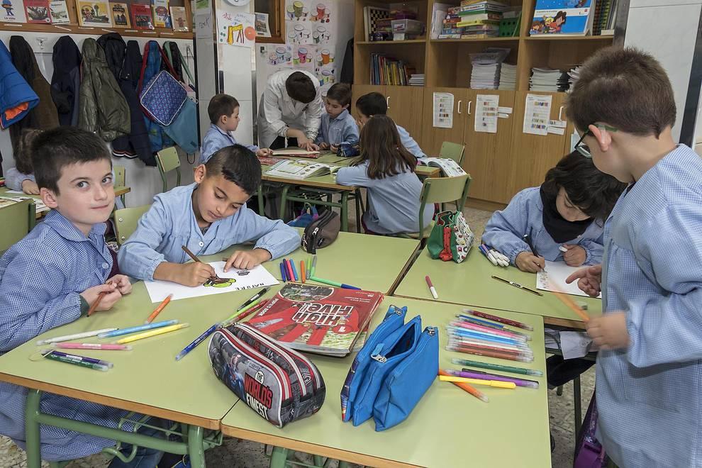 Colegio Santa Ana (Estella) (1/28) - Escolares de Santa Ana. - Navarra -