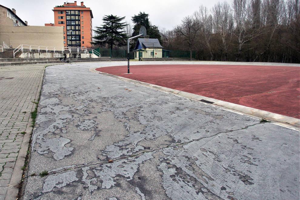 Concurso de ideas para la zona del patin dromo de san for Pisos en san jorge pamplona