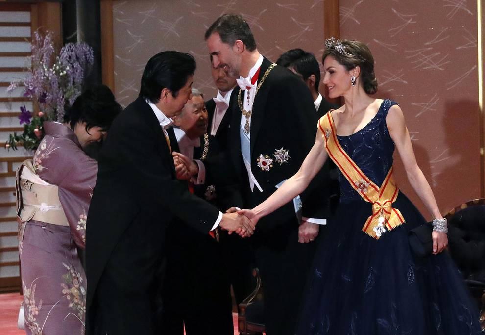 Visita de Estado de los Reyes a Japón (1/19) - Grandes empresarios japoneses expresan al Rey el deseo de invertir en España - Internacional -