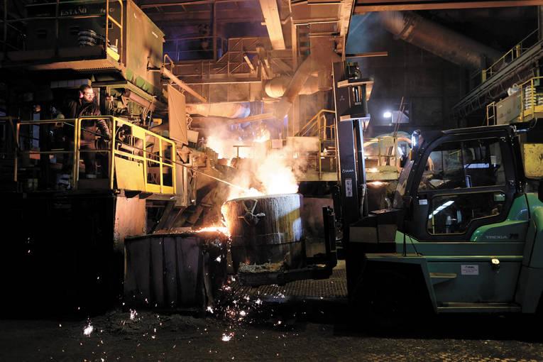 Metalurgia en navarra hierro fundido al calor del for Sala fundicion programacion