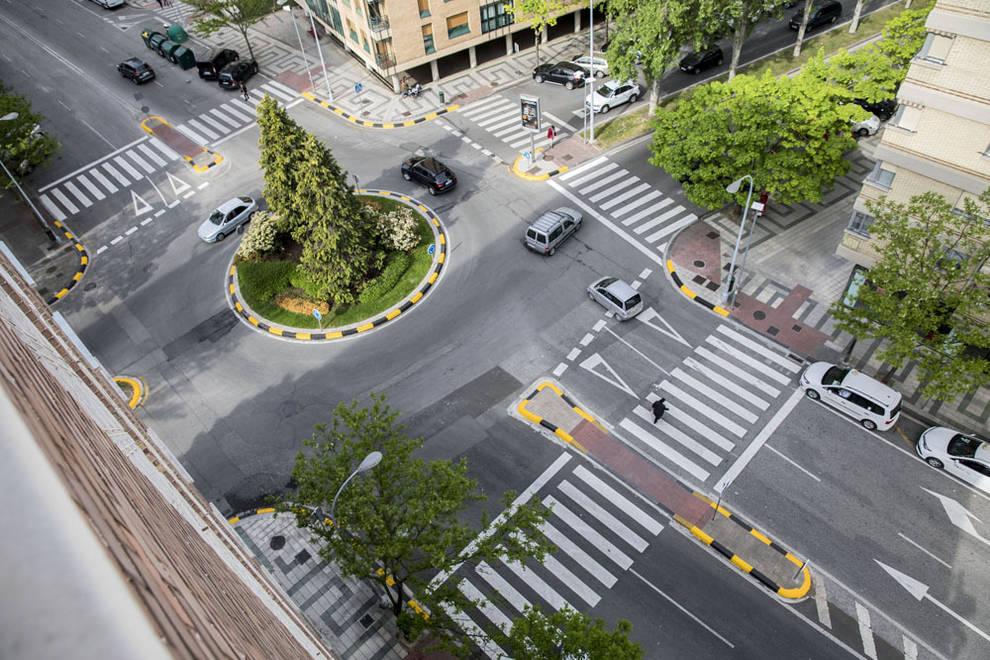 Los cinco pasos de cebra más peligrosos de Pamplona | Noticias de ...