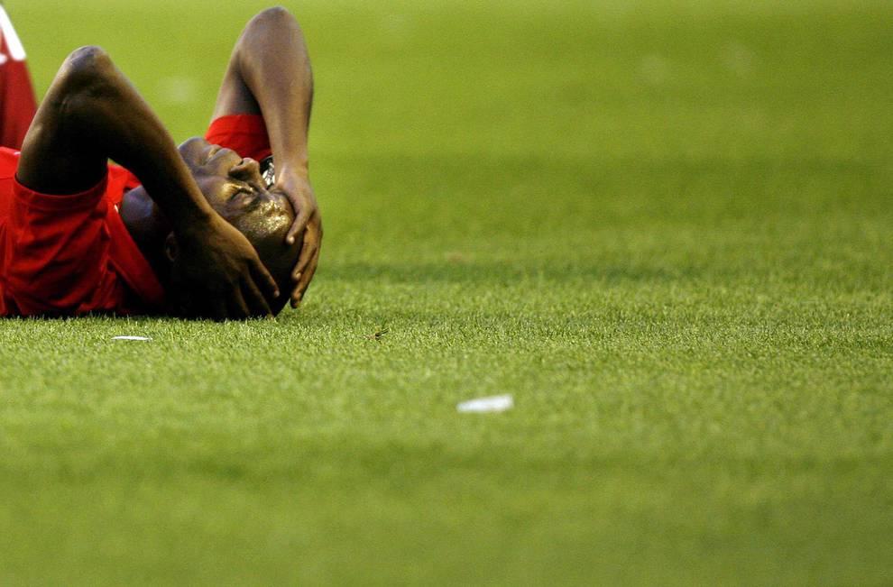 Osasuna, a las puertas de la final de la UEFA (1/16) - El 3 de mayo de 2007, los rojillos perdieron por 2-0 en el Sánchez Pizjuán contra el Sevilla y quedaron eliminados en semifinales de la Copa de la UEFA. - Osasuna -