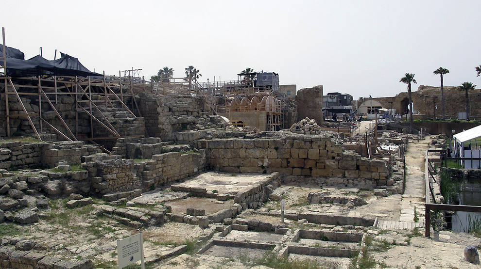 Resultado de imagen de cesarea templo herodes
