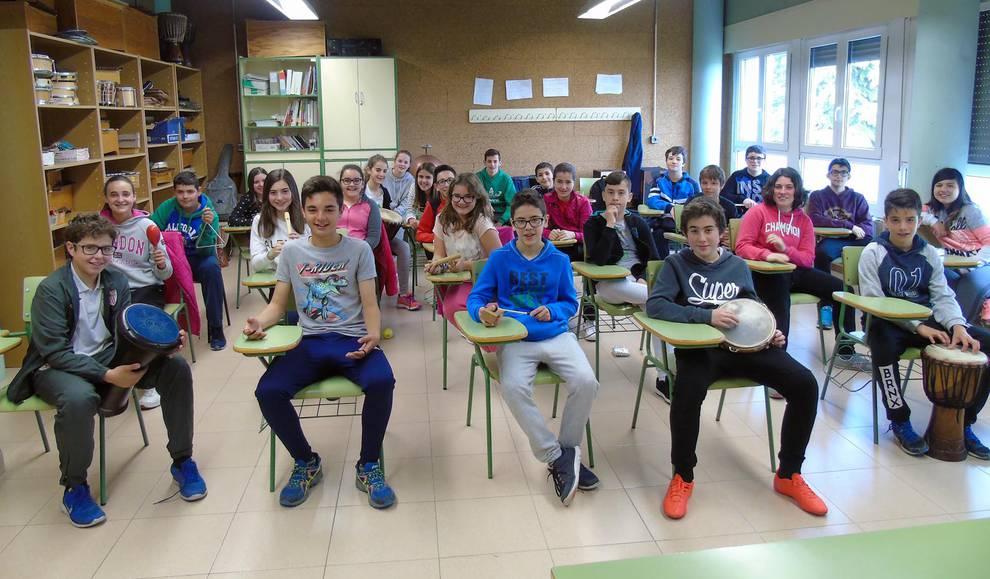 IES EGA (1/21) - Estudiantes del IES EGA de San Adrián. - Navarra -