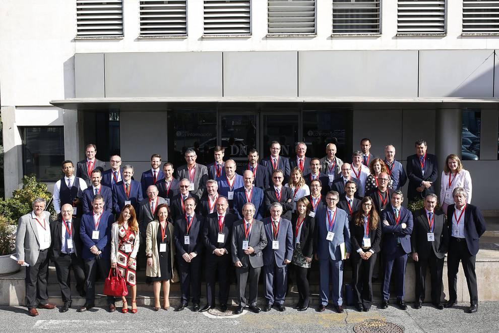 Encuentro con la Industria Navarra (1/25) - Imágenes del evento organizado por Diario de Navarra en el que han participado medio centenar de empresarios de las grandes industrias navarras. - DN Management -