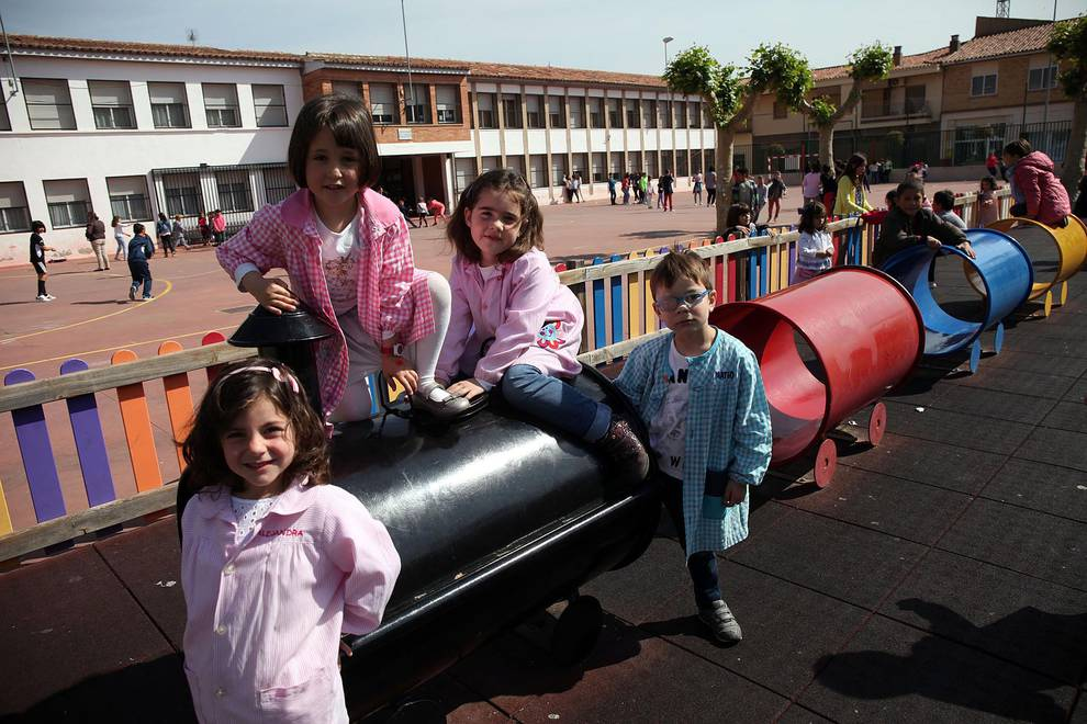 Colegio San Babil (Ablitas) (1/33) - Escolares de San Babil. - Navarra -