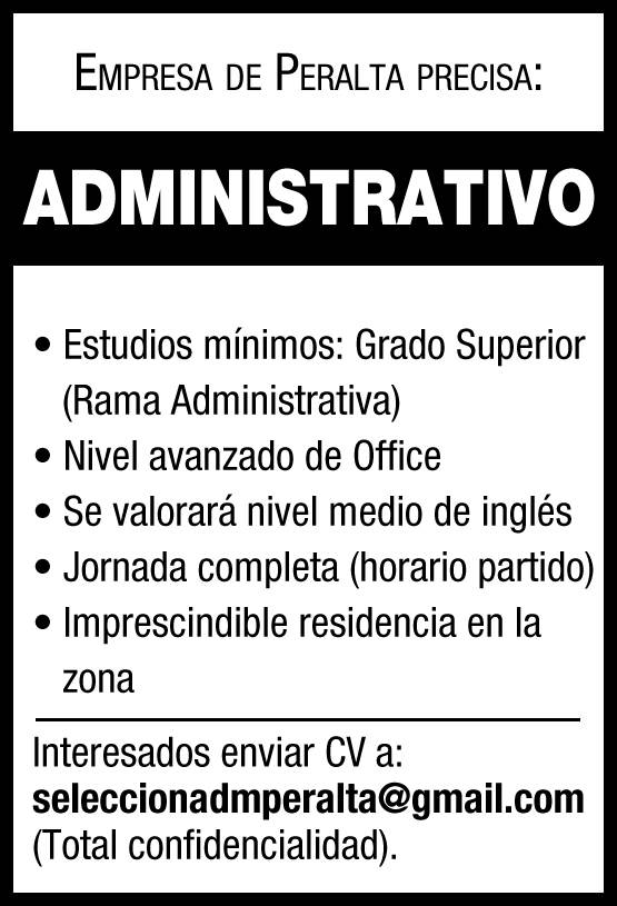 Administrativo empleo
