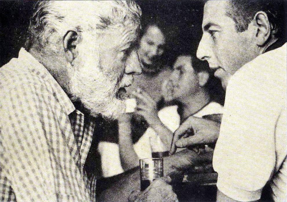 Hemingway y Ordóñez en Pamplona