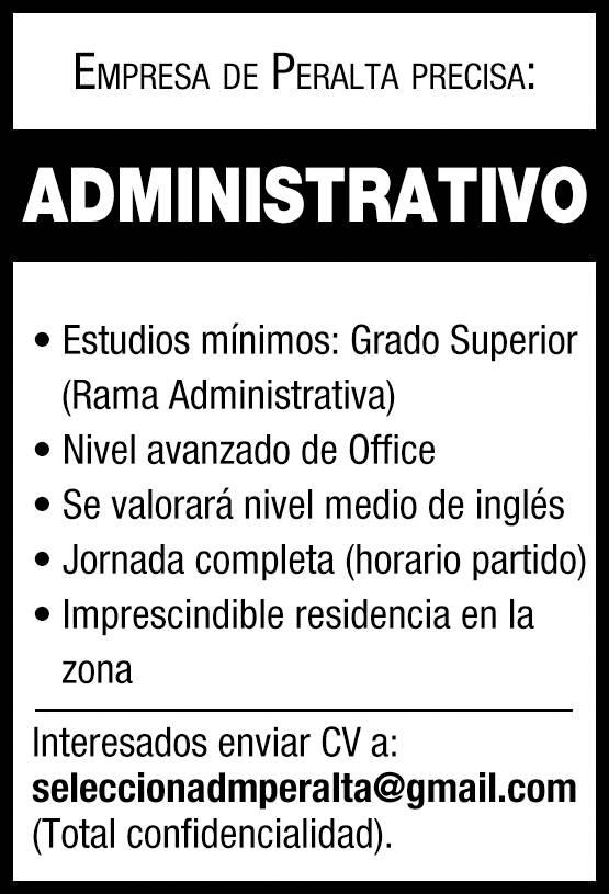 Jefe de administracion de personal empleo 4 junio