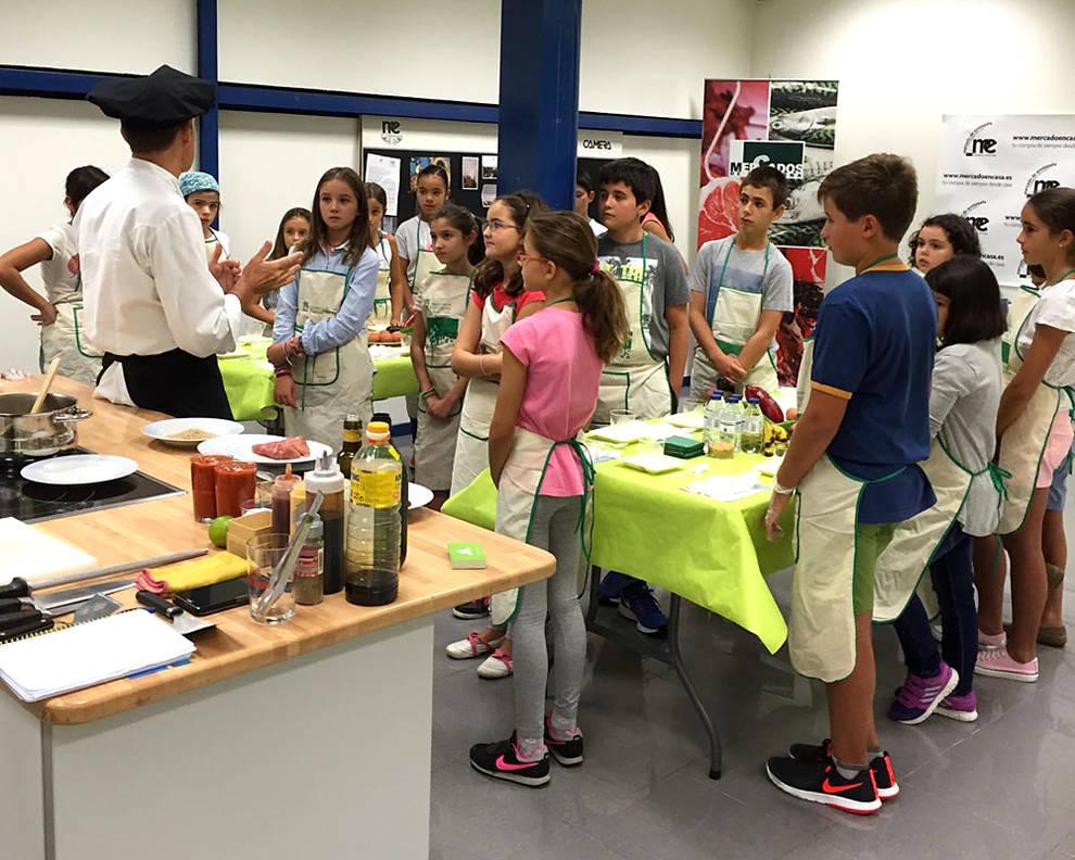 Todav a quedan plazas para el taller de cocina infantil for Cursos de cocina en pamplona