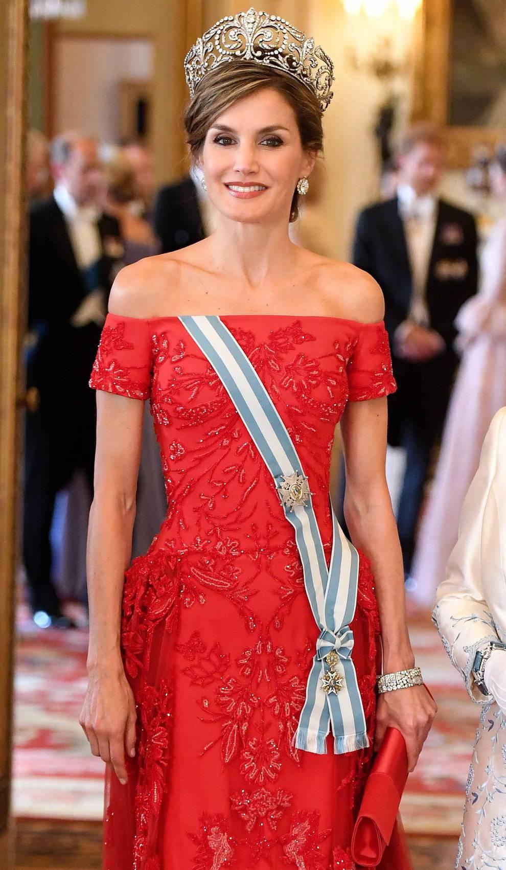 La reina Letizia \
