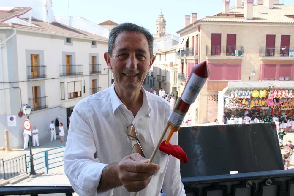 Cohete de fiestas de Lerín (1/8) - Fiestas de Lerín 2017 - Tierra Estella -