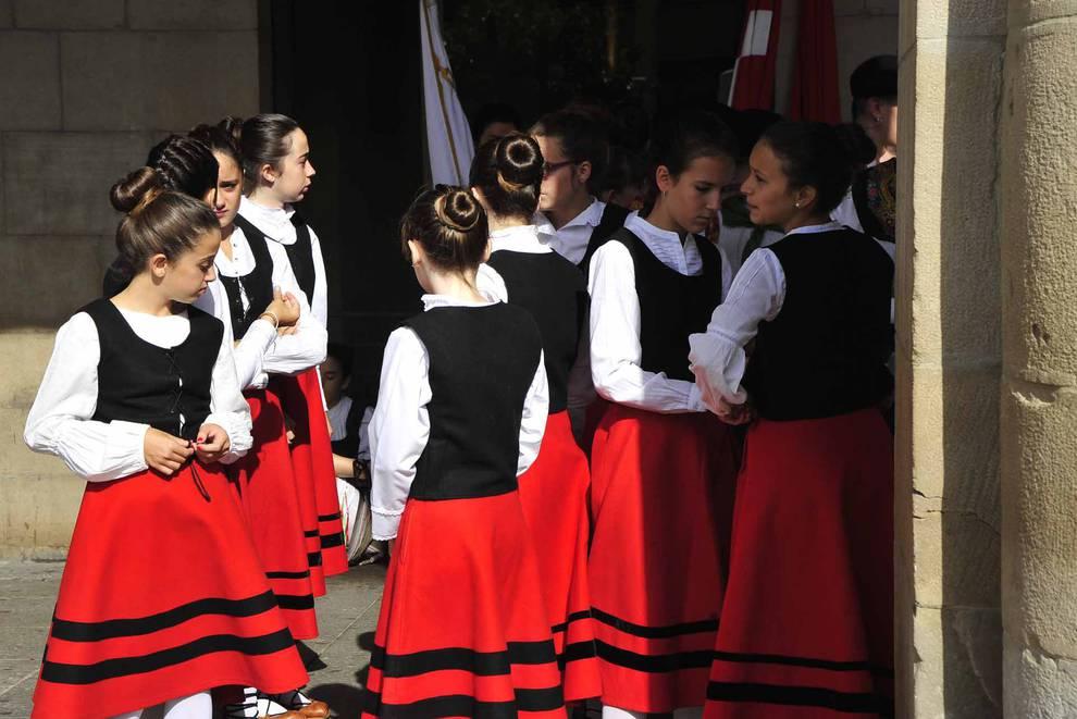 Día grande de las fiestas de Tafalla. (1/19) - Imágenes del día grande de las fiestas de Tafalla, en honor a la Virgen de la Asunción. - Tafalla y Zona Media -