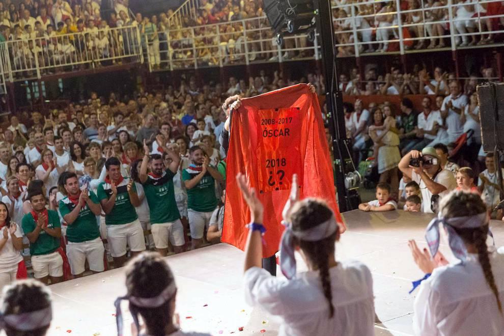 Procesión y Paloteado en Murchante (1/39) - Imágenes de la procesión de San Roque y el Paloteado de las fiestas de Murchante - Tudela y Ribera -