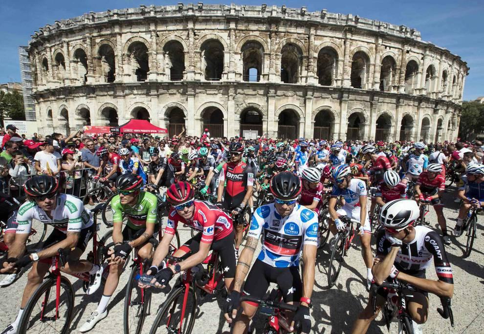 Galería de la segunda etapa de la Vuelta a España (1/10) - Galería de la segunda etapa de la Vuelta a España - Ciclismo -