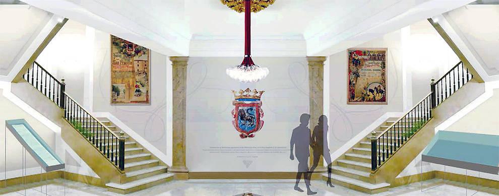 La nueva decoraci n del zagu n del ayuntamiento de pamplona se estrenar el 6 de septiembre - Decoracion pamplona ...