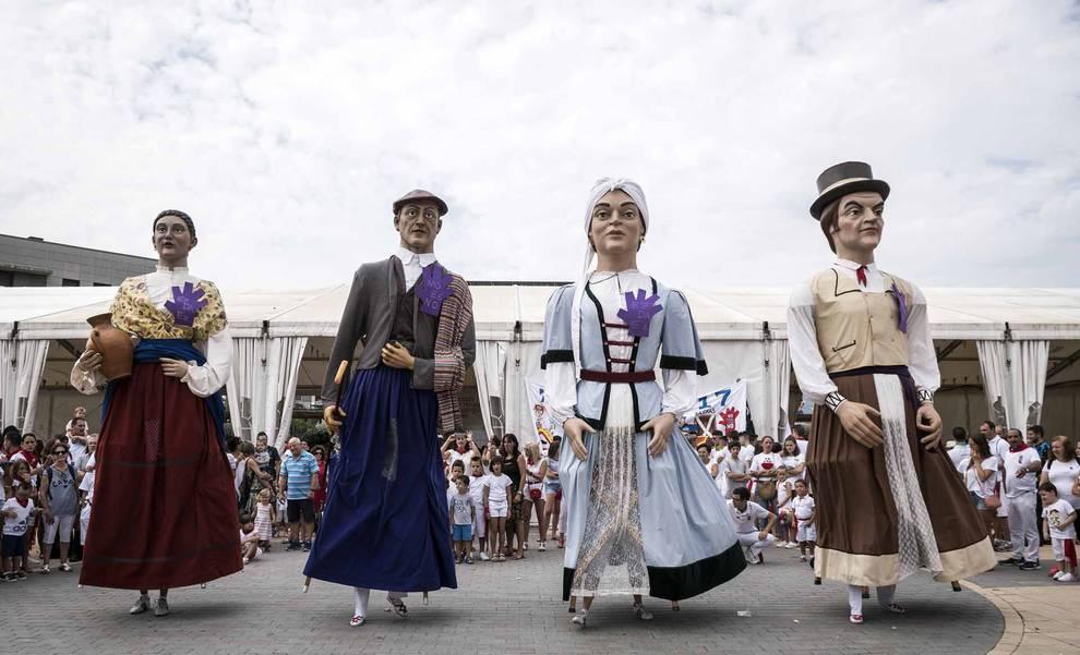 Cohete de fiestas de Noáin (1/20) - Imágenes del cohete de Noáin 2017. - Pamplona y Comarca -