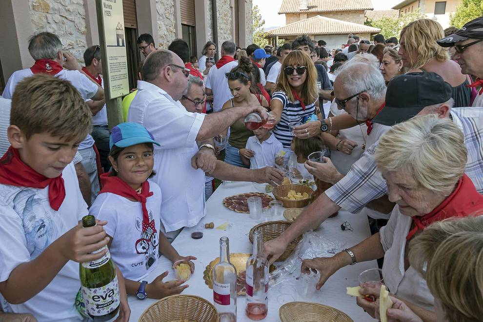 Cohete de fiestas de Murieta (1/15) - Cohete de fiestas de Murieta - Tierra Estella -
