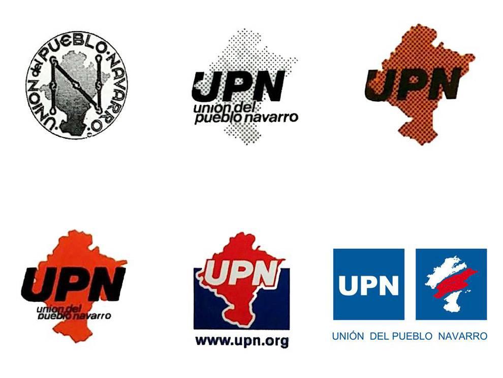 Los logos de UPN